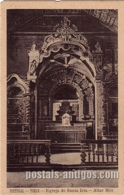 Altar-mor Igreja Santa Iria Tomar